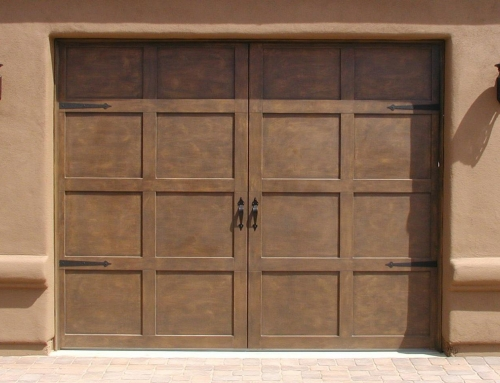 The Original All Steel Carriage House Garage Door