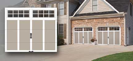 Steel And Composite Carriage House Garage Doors With Or Without Insulation.