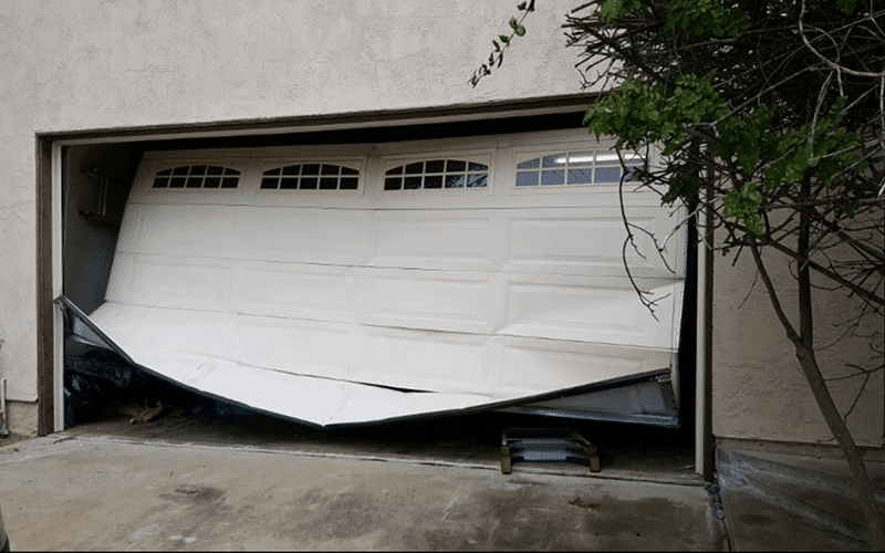 Garage Door Frame Repair Rancho Santa Fe Ca