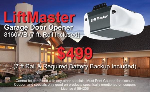 garage door opener special